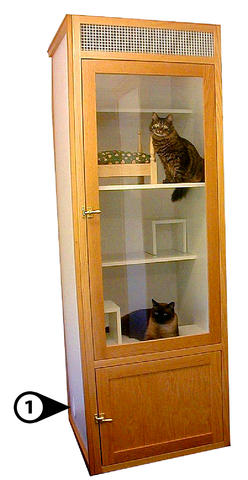 Wooden Cat House Plans